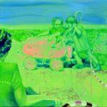Radio Active, 2012, oil on canvas, 150 x 100 cm